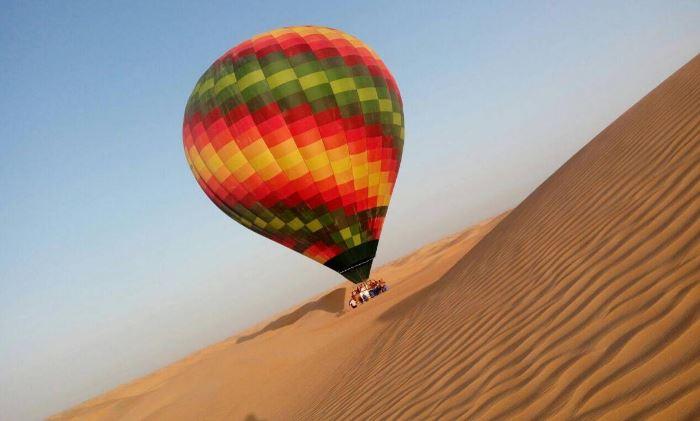 Полёт на воздушном шаре в Дубае