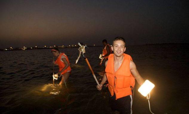 Ночная охота на крабов - необычная и эксклюзивная экскурсия