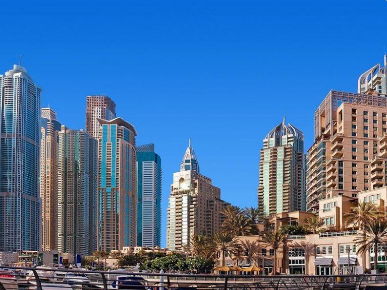 Дубай - крупнейший город в Объединённых Арабских Эмиратах