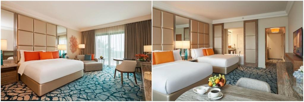 Номера Ocean King Room и Ocean Queen Room
