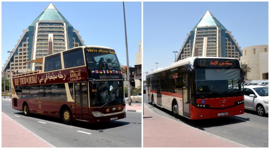 Автобус туристический & автобус общественный.