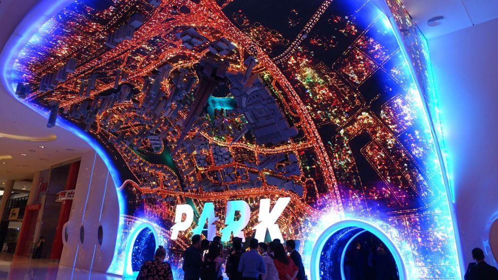 Парк виртуальной реальности в Дубай Молл.
