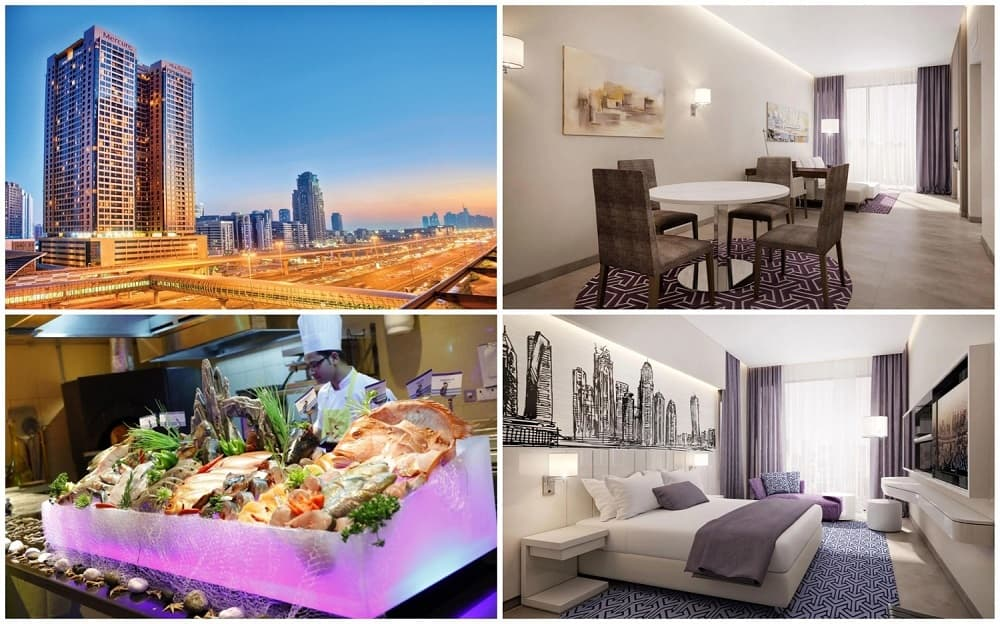 Mercure Dubai Barsha Heights Hotel Suites 4*