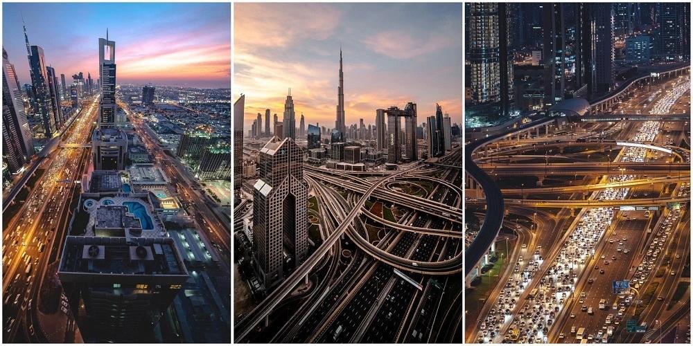 Гулять по Дубаю хорошо только после заката. Днём выходить из отеля не захочется совсем.