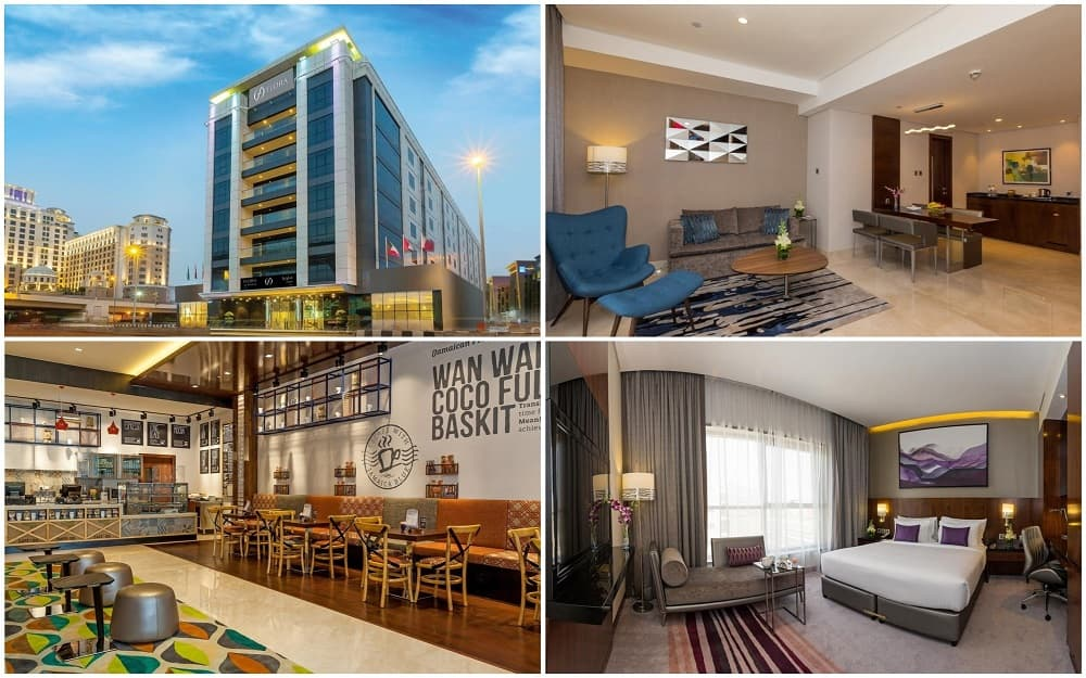 Отель Flora Al Barsha Mall of the Emirates 4*
