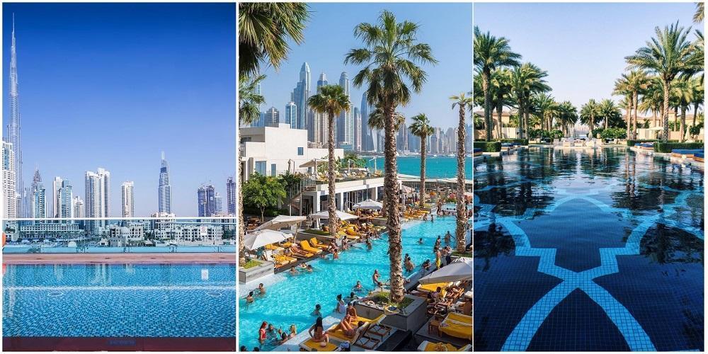 Неважно, какого размера бассейн в вашем отеле, главное, чтобы он был подогреваемым!