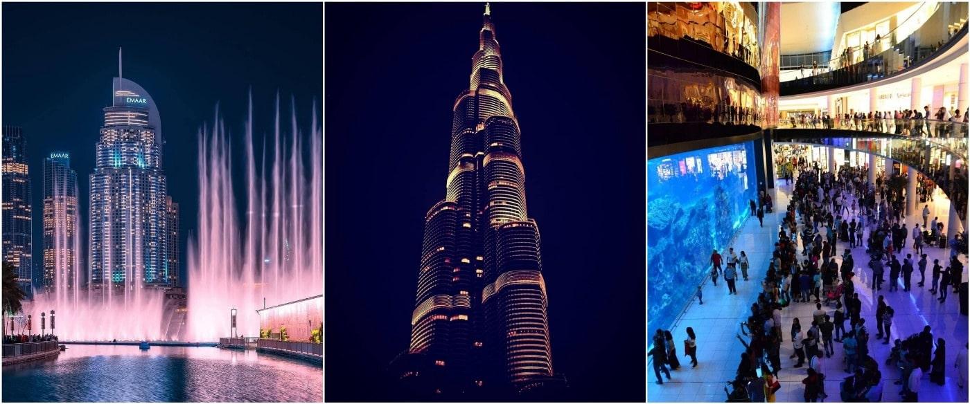 Бурдж Халифа, Дубай Молл и аквариум займет весь день, поэтому есть смысл никуда не спеша осмотреть их самостоятельно.
