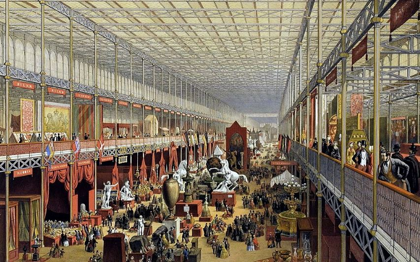 Первая всемирная выставка в Лондоне