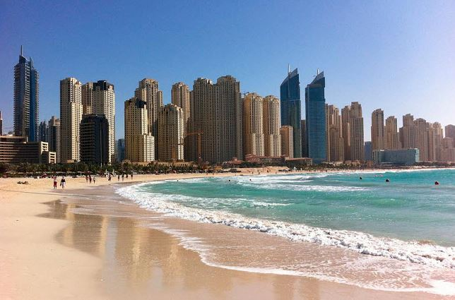 Персидский залив в Дубае