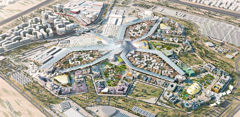 Место проведения ЭКСПО-2020 в Дубае
