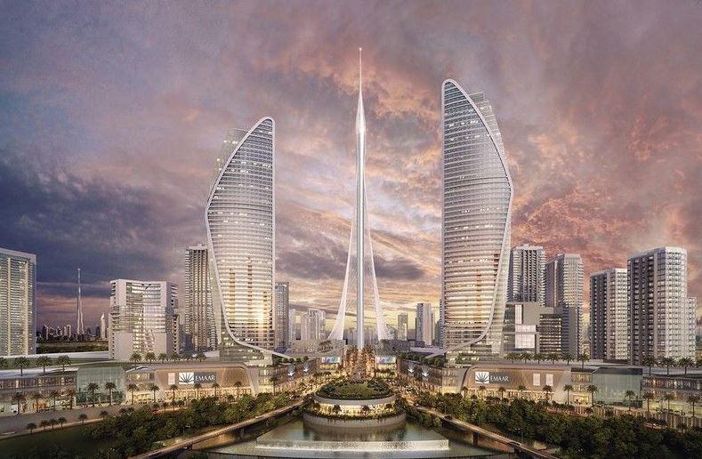 Башня в Дубай-Крик Харбор станет самым высоким сооружением в мире