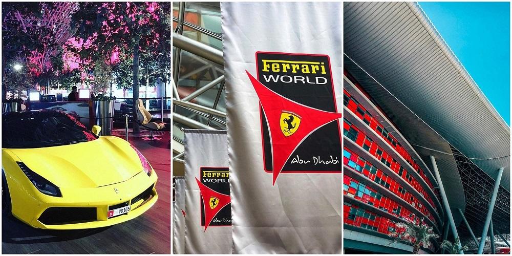 Ferrari Park в моментах.