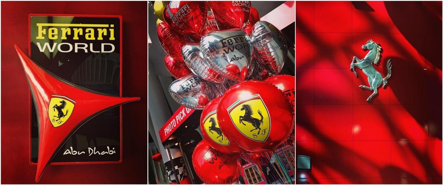 В Ferrari World сложно забыть, где находишься)))