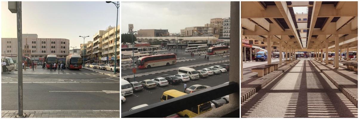 На станции Al Ghubaiba.