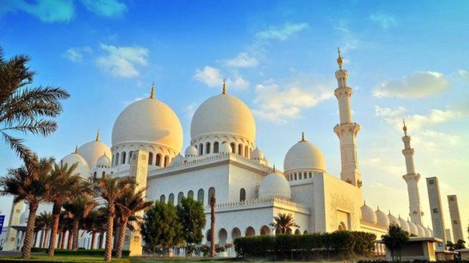 Мечеть шейха Зайда в Абу-Даби - Белая мечеть
