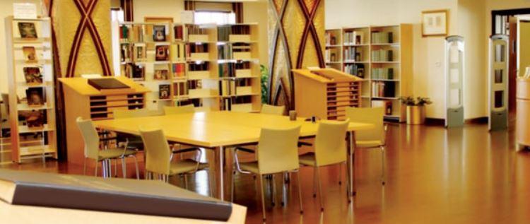 Библиотека в мечети шейха Зайда в Абу-Даби