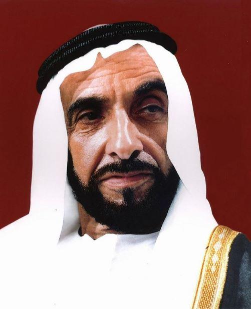 Первый президент ОАЭ - шейх Заид ибн Султан Аль Нахайян