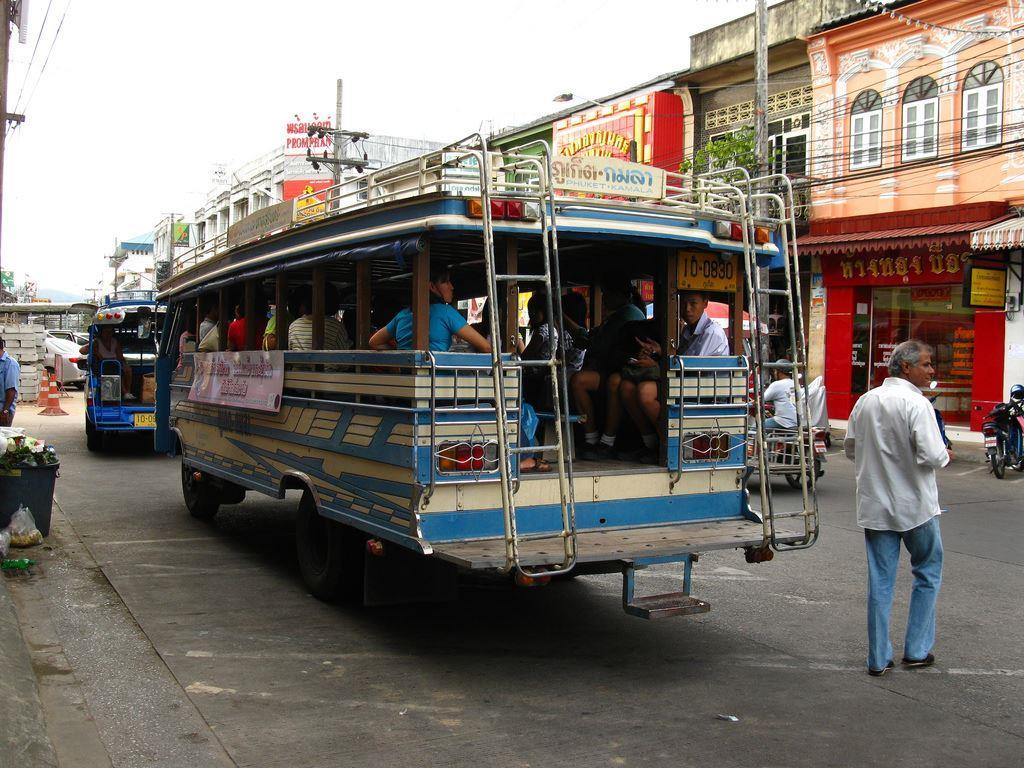 Местные автобусы.