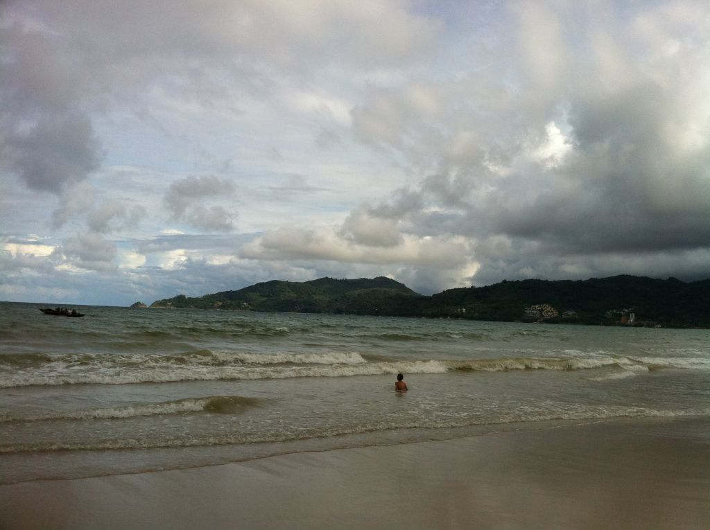 Плохая погода на море