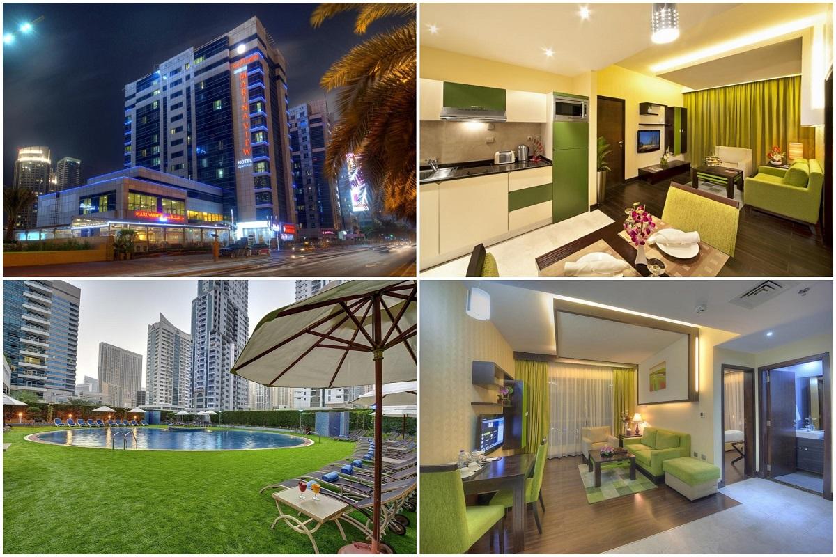 Marina View Hotel Apartments 4*