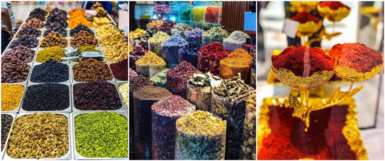 Приправ и арабских сладостей полно, но лучше их просто фоткать, нежели покупать.